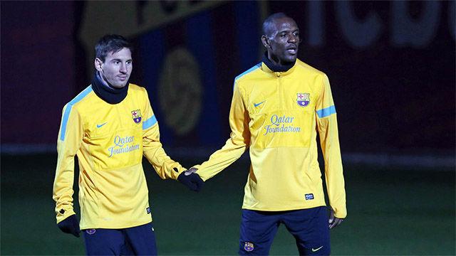 Abidal habla del futuro de Messi