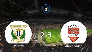 El Alcobendas Sport vence 2-3 en el feudo del Leganés B