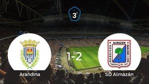 El Almazán deja sin sumar puntos a la Arandina (1-2)