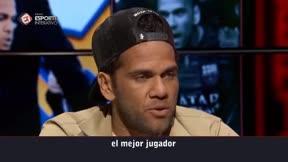 Alves: Neymar es el mejor brasileño que he visto