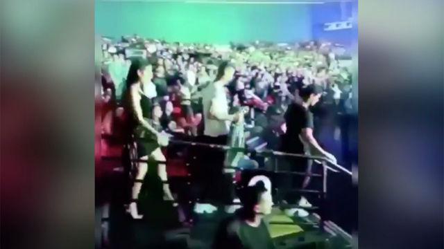 Así disfrutaron Georgina y Cristiano en París del concierto de Jason Derulo
