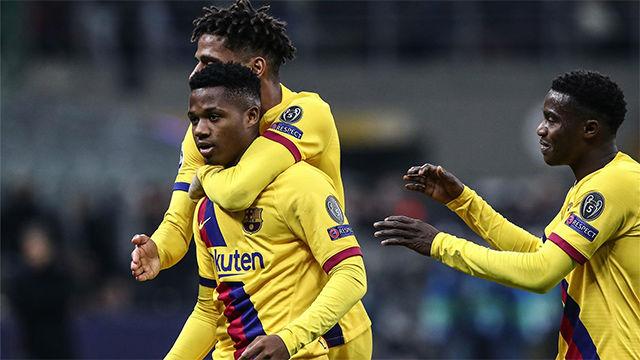 Así narró la radio en gol histórico de Ansu Fati en la Champions League