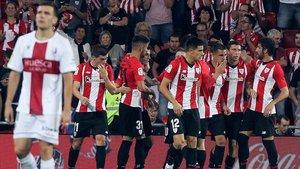 El Athletic Club logró tres puntos importantes contra el Girona la fecha antepasada