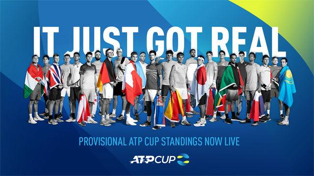 La ATP Cup llega en 2020