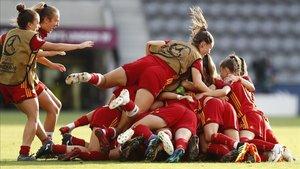 El auge del fútbol femenino ocupó parte de la reunión en el Comité Estratégico de la UEFA