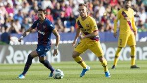 El Barça perdió en el Ciutat de Valencia por 3-1 en la ida