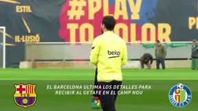 El Barça prepara el duelo ante el Getafe con Manaj y Saverio
