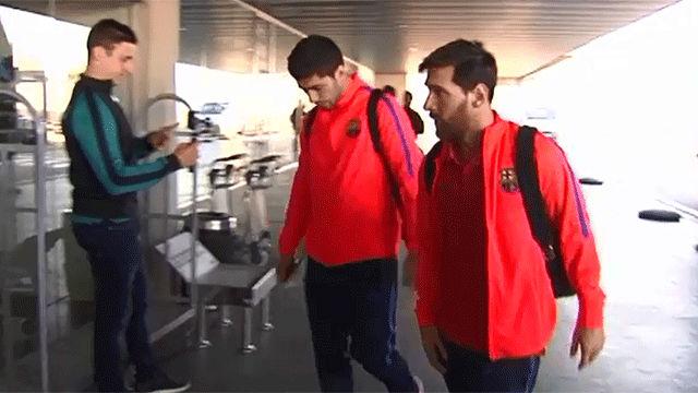El Barcelona pone rumbo a Qatar