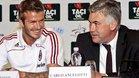 Beckham y Anceloti pueden reunirse de nuevo en el Inter Miami