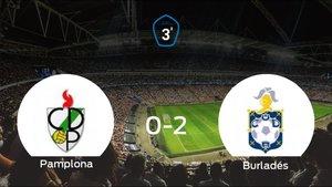 El Burladés se queda con los tres puntos después de ganar 0-2 al Pamplona