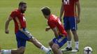 Carvajal y Piqué ya han hecho las paces