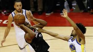Chris Paul ha sido clave en los Rockets, aunque no estará en el sexto partido