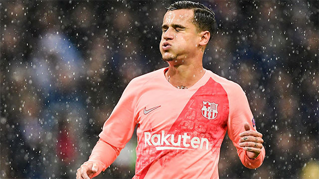 Coutinho cumple 1 año en el Barça