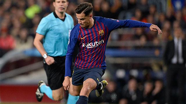 Coutinho se reivindicó con un golazo ante el United