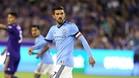 David Villa juega en Nueva York