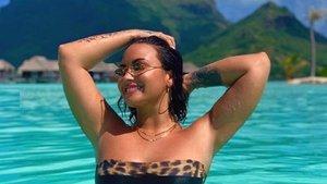 Demi Lovato cautiva a sus seguidores con un sensual posado en Instagram | Los Andes