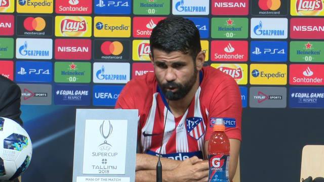 Diego Costa: Admiro a Sergio Ramos