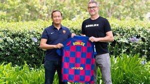 El directivo Didac Lee presentó el acuerdo con Roblox