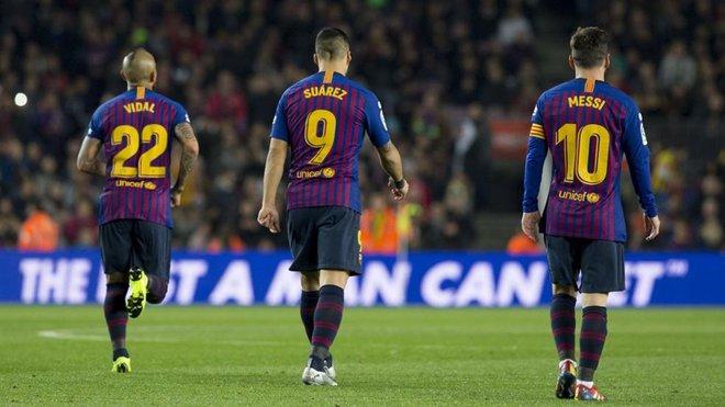 Messi, Suárez... Y Arturo Vidal