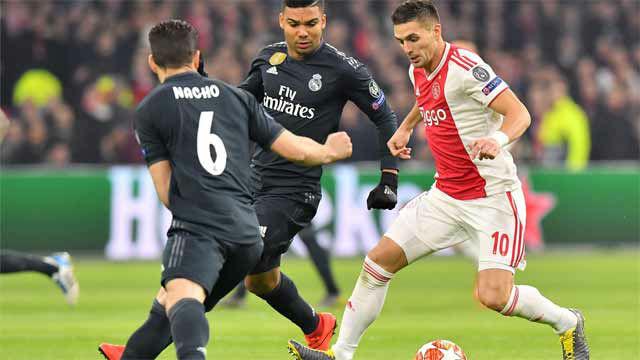 La frustración del Ajax fue la definición: los fallos claros de cara a gol