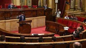 Gerard Esteva defendió la nueva Llei de lEsport