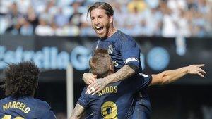 El golazo de Kroos paró de raíz la reacción del Celta