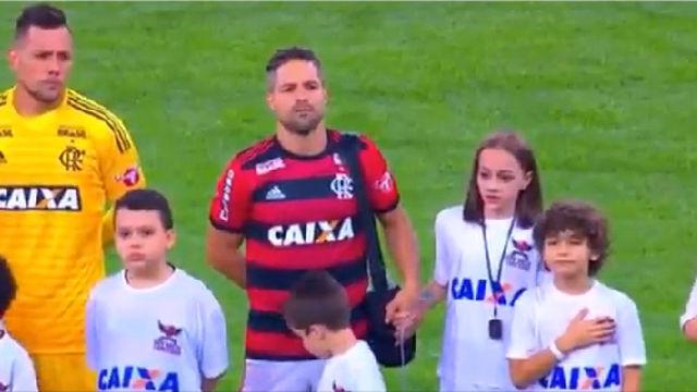 El gran gesto de Diego Ribas en Brasil