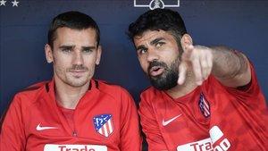 Griezmann y Costa tienen muy buena relación, pero...