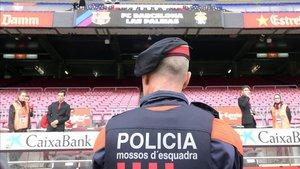 Habrá una fuerte presencia policial durante el partido