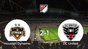 El Houston Dynamo se queda con los tres puntos frente al DC United (2-1)