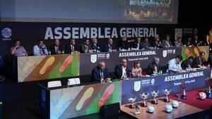 Imagen de archivo de una Asamblea General de la FCF