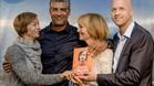 Imagen de la presentación de la autobiografía de Cruyff en Ámsterdam