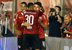 Independiente suma cinco partidos seguidos sin perder
