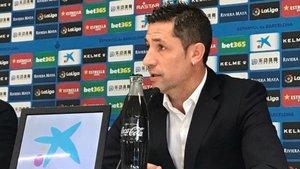 Joan Capdevila manifestó las quejas del club con el VAR