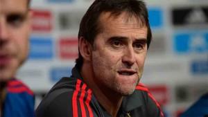 Julen Lopetegui, seleccionador español de fútbol