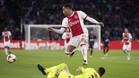 Justin Kluivert brilla en el Ajax
