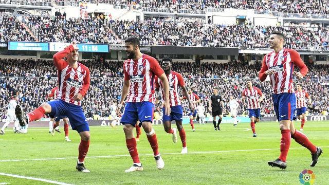 LALIGA | Real Madrid - Atlético de Madrid (1-1): La celebración de Griezmann a lo Fortnite
