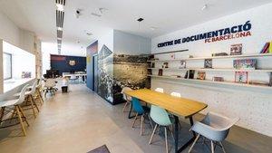 Las nuevas instalaciones del Centro de Documentación y Estudios del FC Barcelona