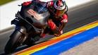 Lorenzo probando la Ducati por primera vez hace dos años