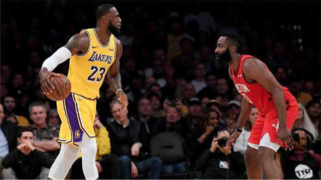 Los Lakers de Lebron se imponen a Houston Rockets de Harden