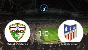 Los tres puntos se quedan en casa tras el triunfo del Trival Valderas frente al Navalcarnero (1-0)