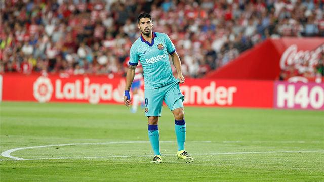 Luis Suárez habló tras el partido ante el Granada