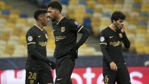 Maheus vivió sus primeros minutos con el Barça
