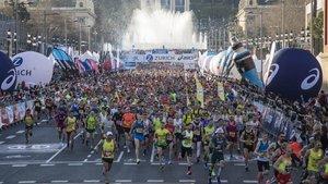 El Maratón Barcelona, pospuesto a 2021
