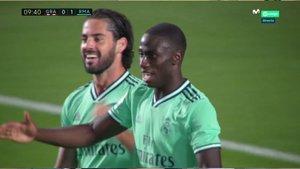 Mendy ha abierto el marcador en Los Cármenes para el Real Madrid