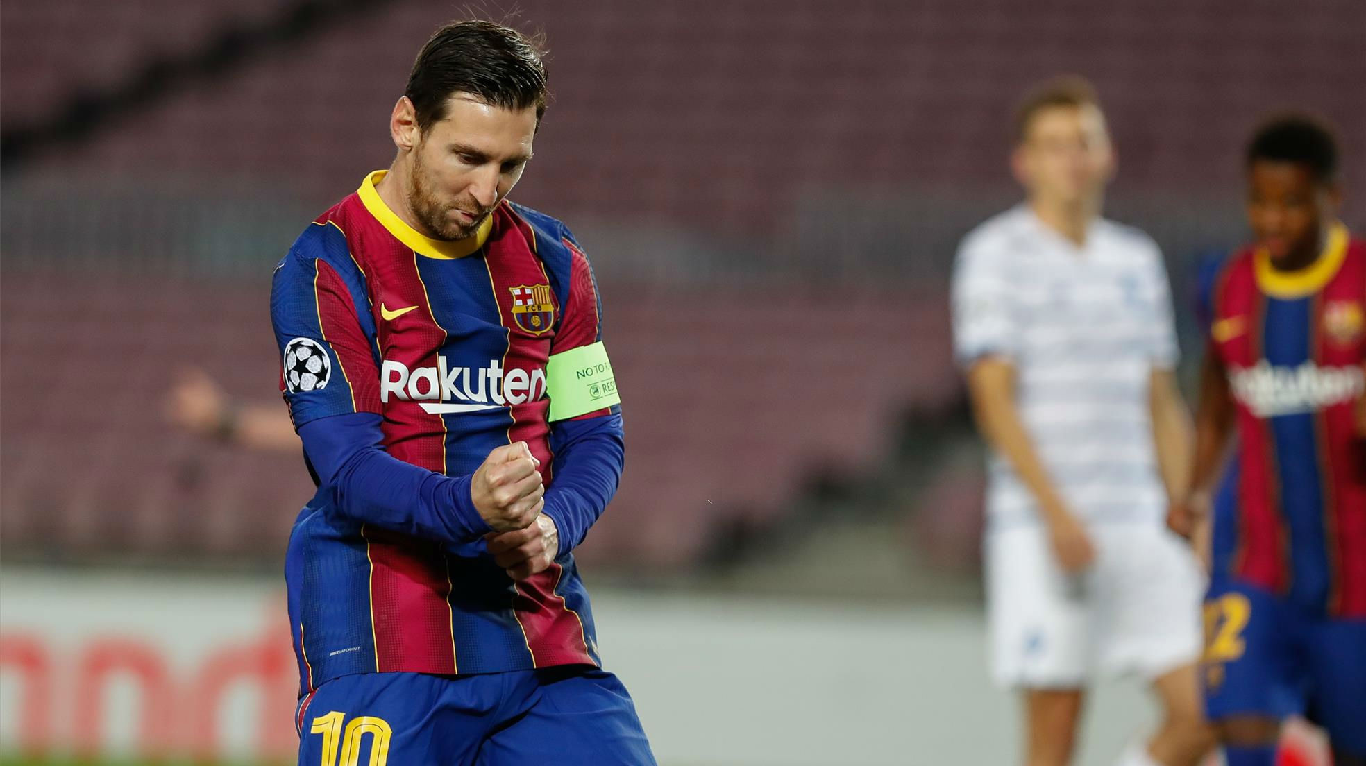 Leo Messi Has Scored 128 Doubles For Barcelona