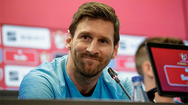 Messi: Queremos que siga Valverde