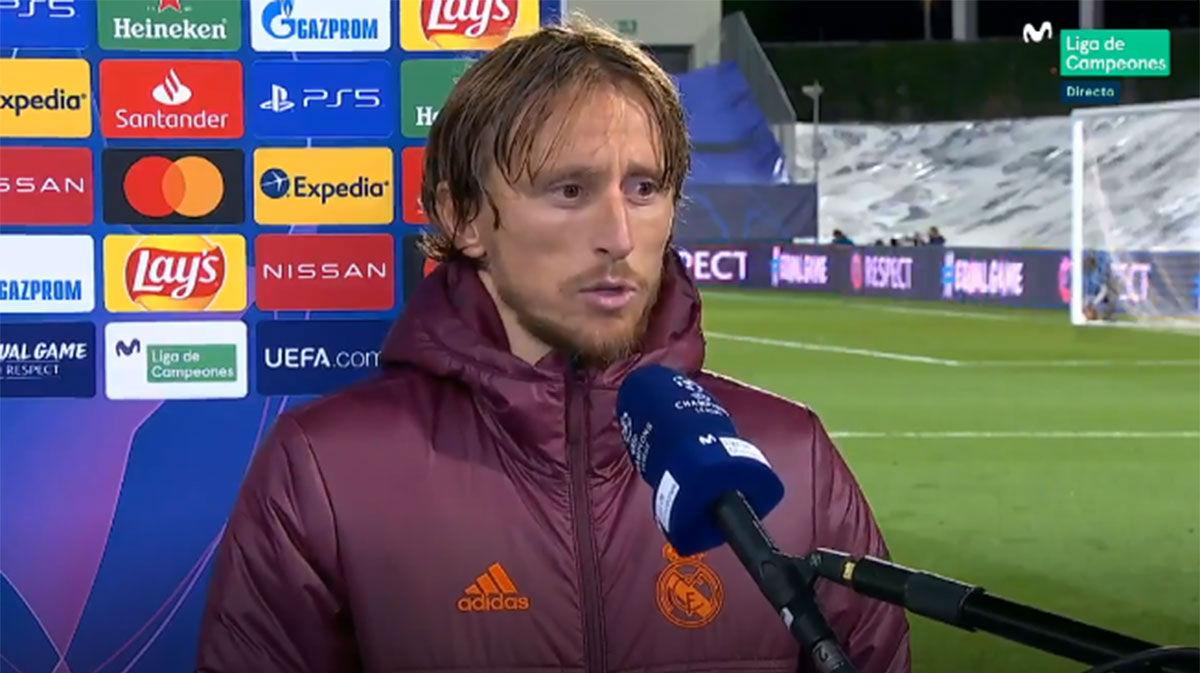 Modric analiza la derrota del Madrid ante el Shakhtar