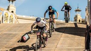 El Mountain Bike ha vuelto a ser el gran protagonista en el corazón de la ciudad