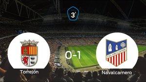 El Navalcarnero se impone por 0-1 a la AD Torrejón CF